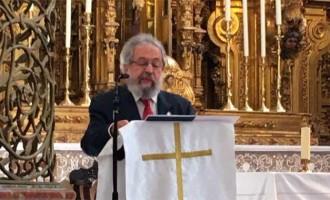 Javier Madero pregonó la II Exaltación a la Cruz en la Rectoría de San Francisco de Écija (audio)