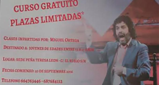 La Peña Flamenca Femenina de Écija organiza el II Taller de Cante para Jóvenes