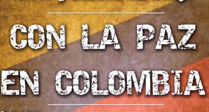 """Acto público en Écija """"Con la Paz en Colombia"""""""
