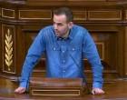 El diputado de Écija, Miguel Ángel Bustamante, presentó una moción en el Congreso sobre el derecho de asilo y la crisis de refugiados