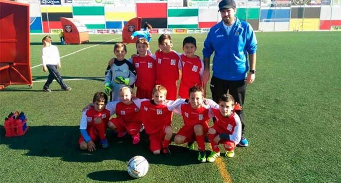 Gran actuación de la Escuela de Fútbol de Écija en el Torneo de Navidad de Puente Genil