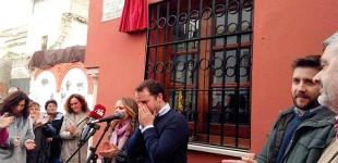 Se inaugura en Écija una calle en honor de Francisco Mateo Diaz Gonzalez, sindicalista que fue de CCOO