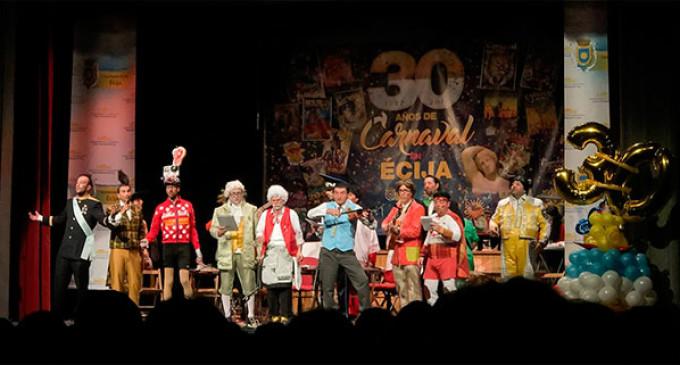Viernes de Carnaval en Écija a través del objetivo de Nío Gómez