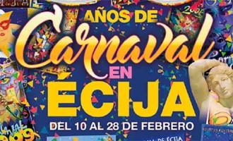 Comienza en el Teatro Municipal el Carnaval de Écija 2017