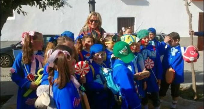 Desfile de Carnaval de los alumnos de la SAFA de Écija
