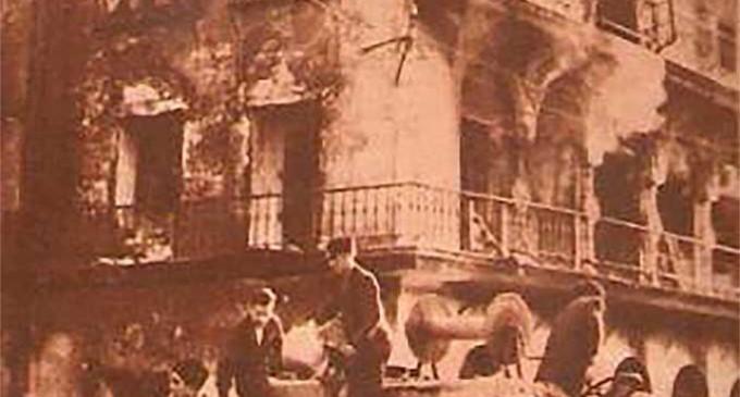 El incendio del Mirador de Peñaflor de Écija, en el año de 1935