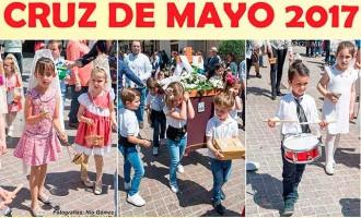 La Hermandad del Resucitado de Écija organiza la procesión de pasos de la Cruz de Mayo 2017