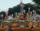 María Auxiliadora realizó su salida procesional por las calles de la feligresía (video)
