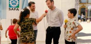 Radio SAFA en la Feria del emprendimiento organizada la Junta de Andalucía