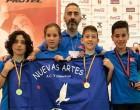 Tres medallas de oro para los atletas taekwondistas de Écija, en el Profesional Open de Zamora