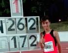 El atleta de Écija, David Ostos Morente, medalla de oro y mejor marca a nivel nacional en Salto de Altura