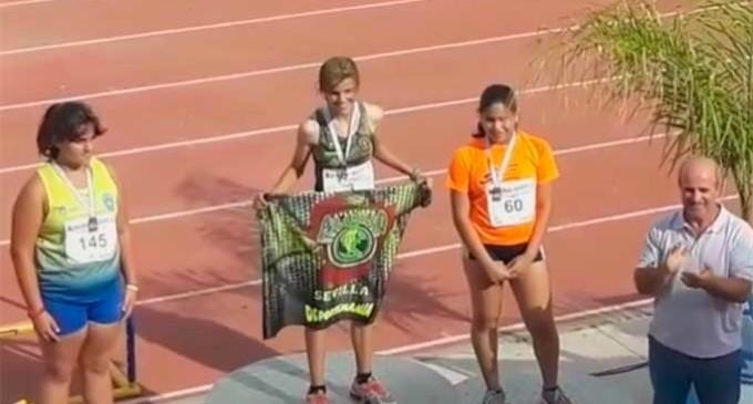 Gran participación de los atletas alevines e infantiles de Écija en el Campeonato de Andalucía