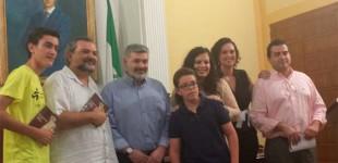 """Entrega de premios del I Certamen de Relato Corto  """"Ciudad de Écija"""""""