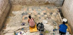 Presentación de los resultados preliminares de los trabajos en la Plaza de Armas de Écija