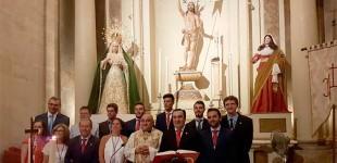 Toma posesión la nueva Junta de Gobierno de la Hermandad del Resucitado de Écija