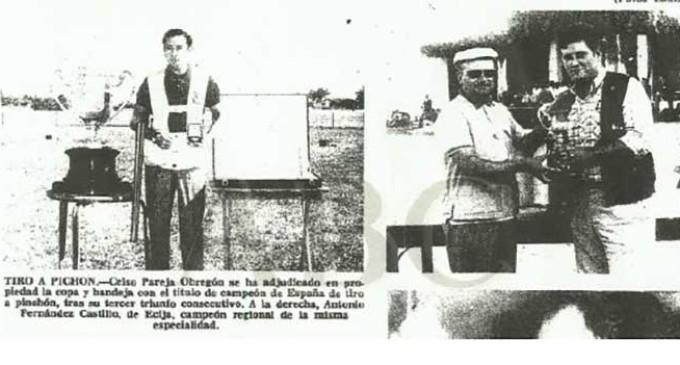 CAPÍTULO XXXII: DE ALGUNOS HECHOS, SUCESOS, ANÉCDOTAS Y OTRAS NOTICIAS RELACIONADAS CON LA CIUDAD DE ECIJA, ENCONTRADAS EN LAS HEMEROTECAS ESPAÑOLAS por Ramón Freire