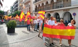 Manifestación en Écija por la unidad de España (video)