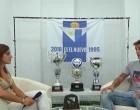 Entrevista realizada por Canal ECJ al central del equipo del Écija Balompié, Luis Martínez de Quel