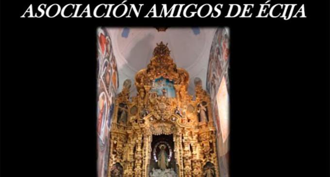 """Conferencia en Écija:""""La Iglesia de San Francisco"""" por José Enrique Caldero"""