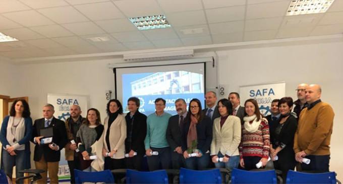Profesores de Formación Profesional de SAFA Écija obtienen la acreditación en Lean Management (audio del acto)