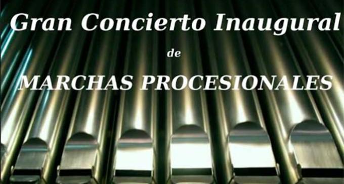 Concierto de Órgano en Écija, de Marchas Procesionales