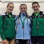 La atleta de Écija, Ana Blanco, campeona de Andalucía en 800. Extraordinaria actuación del resto de atletas ecijanos. (videos)