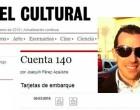 """David Rodríguez Rosa de Écija, gana el Concurso de Poesía """"Cuenta 140"""" que organiza la revista EL CULTURAL"""