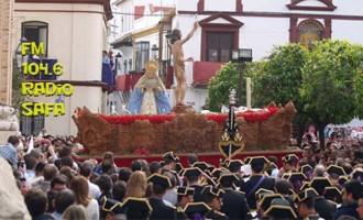 Sevillanas con Sentimiento Cofrade y Música de grabaciones en directo de Bandas de Écija, en Radio SAFA