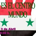 """Conferencia Coloquio en Écija, """"Siria es el centro del mundo"""""""