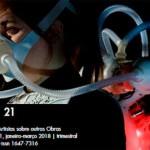 La prestigiosa revista internacional de investigación Studio21, publica un artículo sobre el artista de Écija, José Ramón Freire Santacruz
