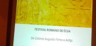"""Conferencia en Écija """"De Colonia Augusta Firma a Astigi. De la Transición de la Sociedad Romana a la Tardoantigua"""" por Sergio García y Jerónimo Sánchez (audio en exclusiva)"""