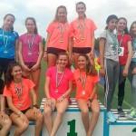 Se baten seis records de los atletas locales en las competiciones de Écija