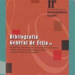 """Presentación del libro """"Bibliografía General de Écija"""""""
