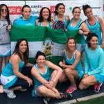 El equipo femenino del Club de Pádel Indoor de Écija se proclama Campeón de España en la categoría 500