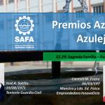 José Antonio Sotillo y Mari Carmen Freire recibirán el Premio Azulejo y Azuleja del Año en su segunda edición, que otorga la SAFA de Écija
