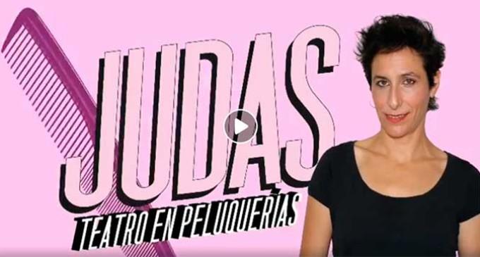 """La cultura teatral llega a las peluquerías: La obra """"Judas"""" en Écija"""