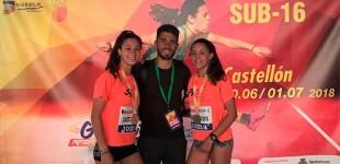 Dos medallas para atletas de Écija en el Campeonato de España Sub16 celebrado en Castellón