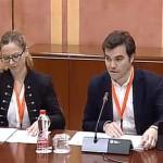Manuel Barrera de Écija, presidente del Colegio de Licenciados y Graduados en Ciencias Ambientales de Andalucía (COAMBA), comparece para instar la aprobación de la Ley de medidas frente al Cambio Climático antes de la convocatoria de elecciones