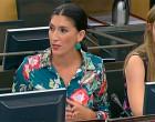 La Diputada de Écija por el PP, Silvia Heredia,  interviene en la Comisión de Infancia defendiendo que los niños puedan seguir asistiendo a los Toros