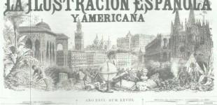 ARTICULO SOBRE COSTUMBRES ANDALUZAS, DEL ECIJANO BENITO MAS Y PRAT, PUBLICADO EN LA ILUSTRACION ESPAÑOLA Y AMERICANA, DEL DIA 22 DE JULIO DE 1882 por Ramón Freire
