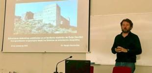 """El Arqueólogo del Ayuntamiento de Écija, Sergio García Dils, ha presentado una ponencia en el Seminario Científico Internacional """"Patrimonio rural/defensivo de Al-Ándalus"""""""