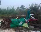 Derribado el Árbol de Colores del Puente de Écija