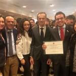 José Ramón Luque de Écija, Premio Nacional a uno de los mejores expedientes académicos universitarios