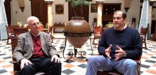 """CLEMENTE M. LÓPEZ CONVERSA SOBRE """"LOS CEMENTERIOS DE ÉCIJA"""" por Rafael Cortés"""