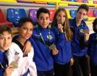 Gran éxito de los  taekwondistas de Écija en la Supercopa de Andalucía