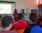 La Diputada del Congreso y Concejala del Ayuntamiento de Écija, Silvia Heredia, habló de la Constitución a los alumnos de la SAFA