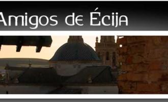 Programación Cultural de Amigos de Écija para el Primer Trimestre de 2019