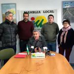 Eligio García presenta su candidatura a las primarias de IU-Écija