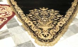 La Hermandad de Santiago de Écija recupera un manto de la Virgen de los Dolores del siglo XVIII del que no se sabía su paradero