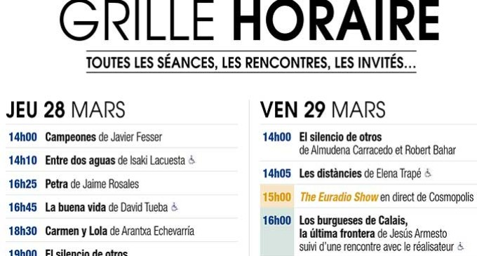 La película «Los burgueses de Calais, la última frontera» del director de cine de Écija, Jesús Armesto, seleccionada en la sección oficial del Festival Cinéma Espagnol de Nantes